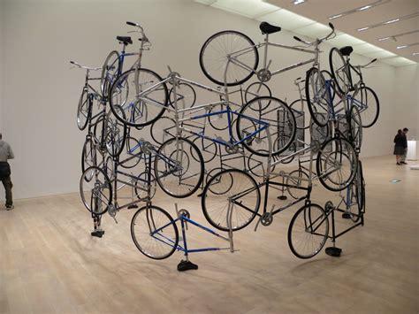 imagenes de instalaciones artisticas ai weiwei bicycle sculpture te la do io firenze te la