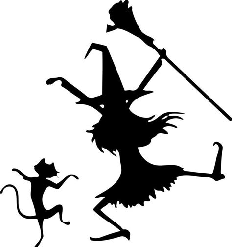 best 25 witch silhouette ideas on pinterest halloween