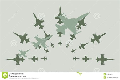 army pattern illustrator army fighter jets vector design clipart stock vector