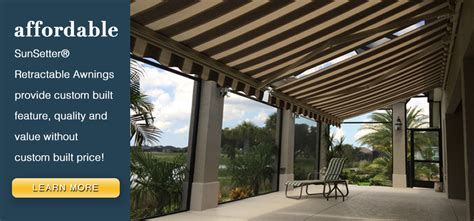 sunset awning home sunsetter awnings retractable the villages community ocala gainesville