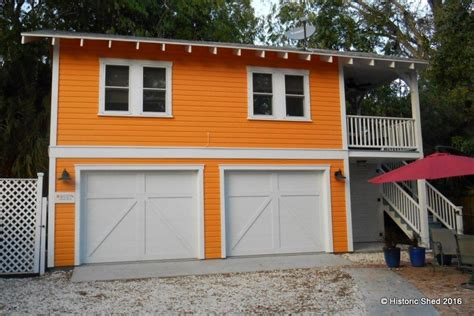 two story garage apartment two story two car garage apartment historic shed florida