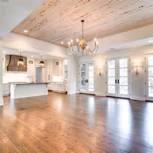 the perfect open floor plan with french doors to the
