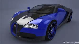 bugatti veyron blue by axel redfield on deviantart