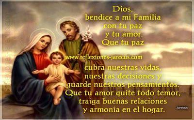 dios bendice mi hogar mi esposo y mis hijas carteles oraci 243 n por la familia reflexiones cristianas