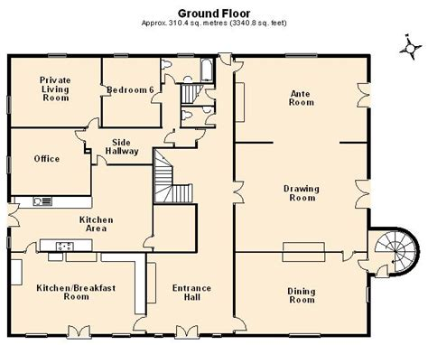 sle house floor plan floor plans great property marketing tools