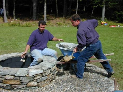 how to make a fire pit in your backyard 35 diy fire pit tutorials stay warm and cozy