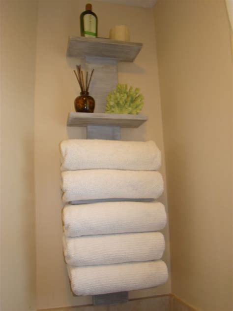 Bathroom Towel Display Ideas by Useful Bathroom Towel Storage Ideas That You Will