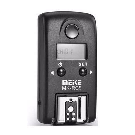 Wireless Flash Trigger Meike Mk Rc7 For Nikon Slr N3 meike single mk rc9 transmitter 100m wireless flash trigger for canon meike store