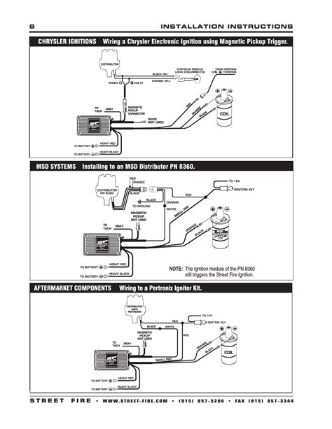 pertronix billet distributor wiring diagram omix ada