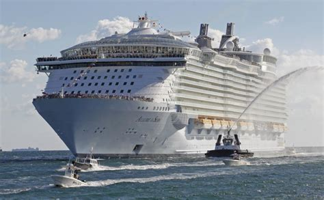 largest cruise ships in the world the world s largest cruise ships a look inside photos