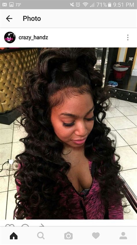 Hairstyles With Tracks Sewed In by 1022 Best Sew In Hairstyles Images On Curls