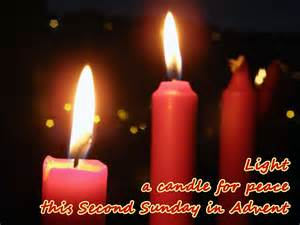 light a candle for peace 20 beautiful second sunday of advent greeting pictures