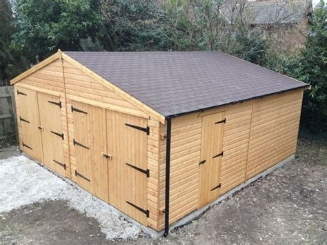 How To Build Wooden Garage by Timber Garages Dorset Wooden Carports Timber Buildings Shop