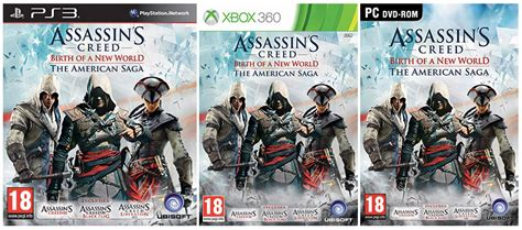 Ac 3 4 Pk National assassin s creed iii iv y liberation juntos en el pack