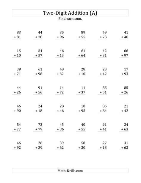 free printable multiplication worksheets with regrouping worksheet regrouping addition worksheets hunterhq free