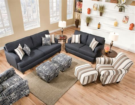 living room furniture st louis omega denim collection with casual flair contemporary
