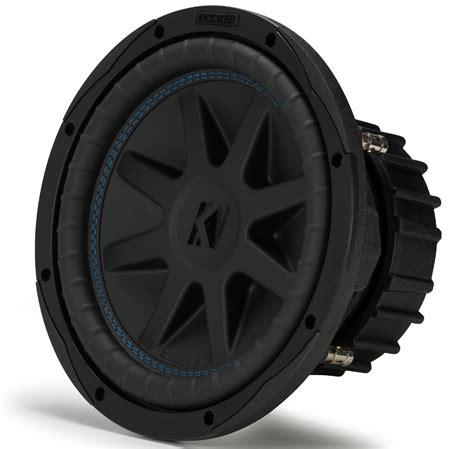 kicker cvx car audio compvx subwoofer dual  ohm