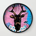 deer throw pillow  saundra myles society