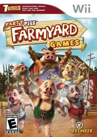 home design games for wii party pigs farmyard games box shot for wii gamefaqs