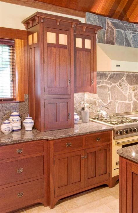 mission style kitchen cabinets top cabinet doors