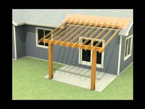 design   roof addition   existing concrete patio