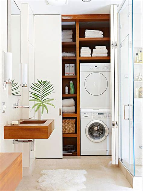 Bathroom Laundry Ideas | 20 small laundry with bathroom combinations house design
