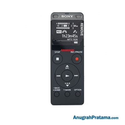 Dijamin Sony Voice Recorder Icd Ux560f sony icd ux560fbce digital voice recorder with built in usb media player anugrahpratama