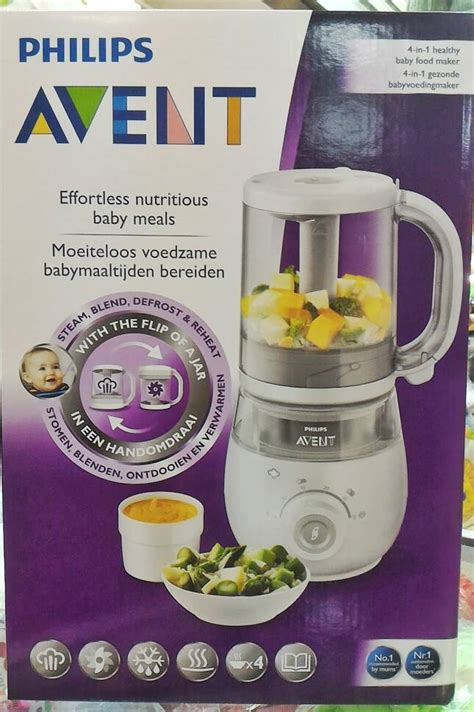 Blender Philips 4 In 1 jual philips avent 4 in 1 healthy baby food maker steam