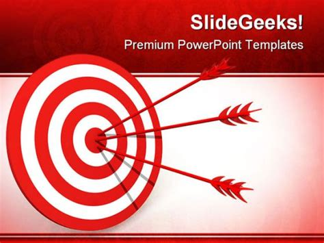 Target Business Powerpoint Backgrounds And Templates 1210 Target Powerpoint Template