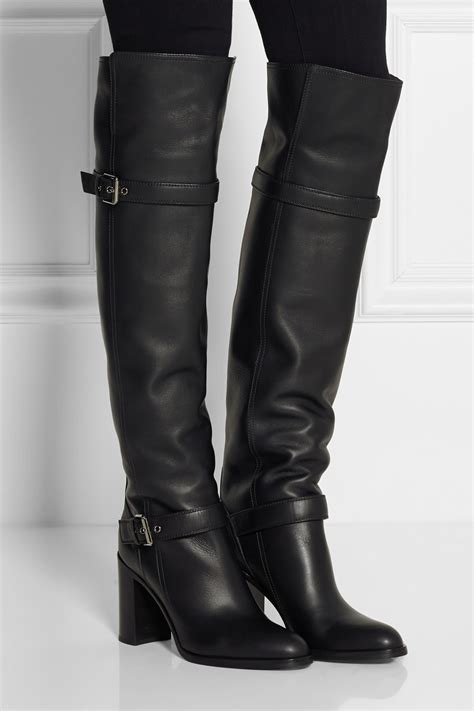 high motorcycle boots look of the day dresses and suits