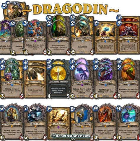hearstone deck 17 best images about hearthstone decks on