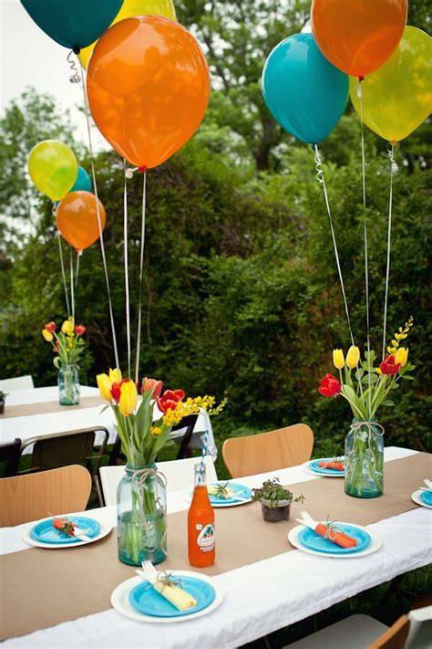 outside party ideas 25 best ideas about outdoor birthday decorations on