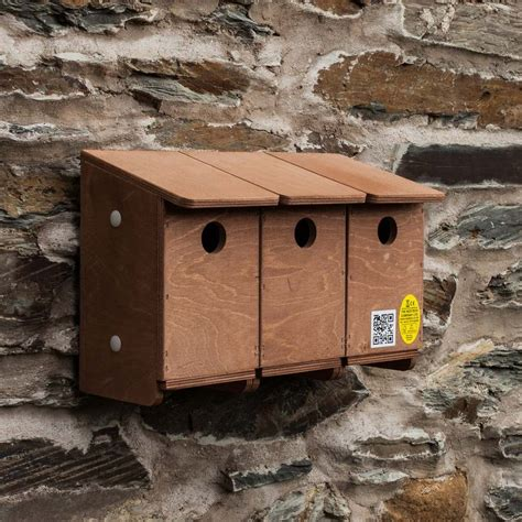 sparrow terrace nest box the nestbox company