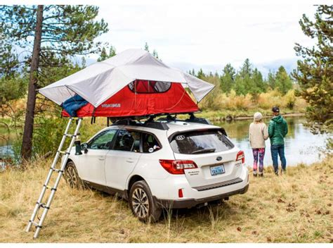 Roof Rack Tent by Yakima Skyrise Roof Tent Racks Unlimited