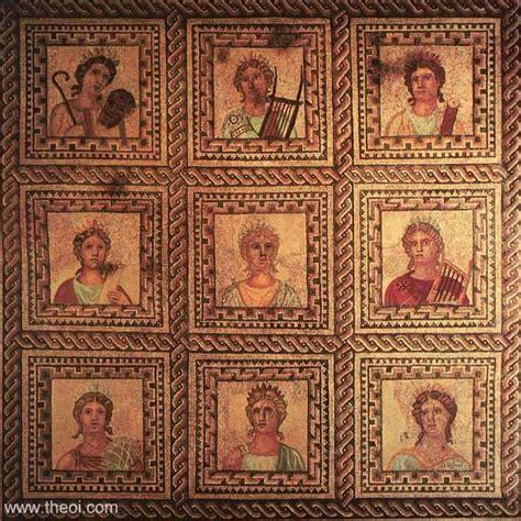 1407527355 rome antique l epopee d un les neuf muses filles de zeus et de mn 233 mosyne quatre d