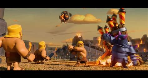 film animasi clash of clans clash of clans legend of the last lava pup commercial