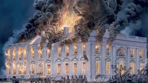 burning of the white house tweet about burning of white house followed by apology from british embassy youtube