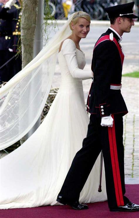 hochzeitskleid mette marit crown princess mette marit of norway