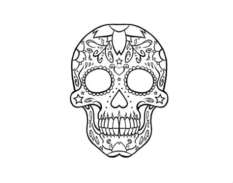 drawing templates free skull drawing template 14 free pdf documents
