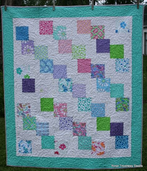 Falling Charms Quilt Pattern by Falling Charms Baby Quilt