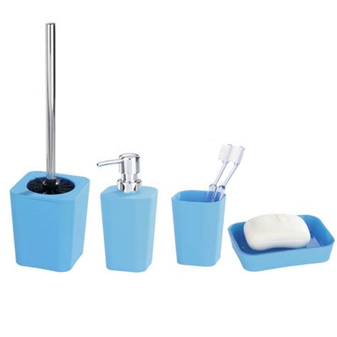 rainbow bathroom accessories wenko rainbow bathroom accessories set blue at
