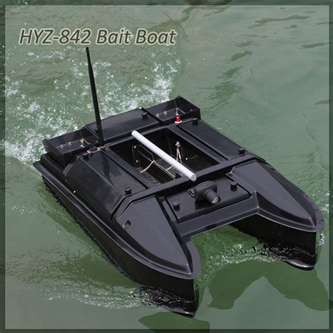 fishing bait boat with gps hyz 842g fishing tackle intelligence bait boat with gps