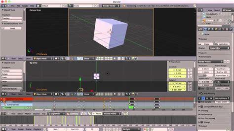 tutorial animation blender 3d beginners blender 3d tutorial 26 camera animation
