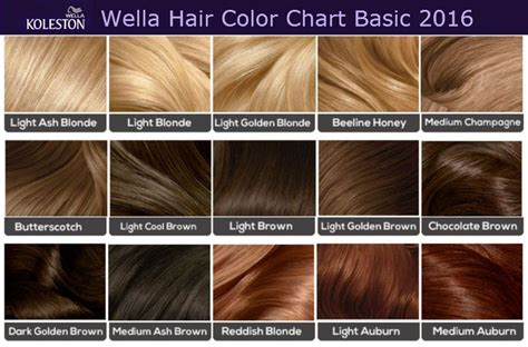 loreal hair color chart ginger 21 best wella formulas images on pinterest ginger hair