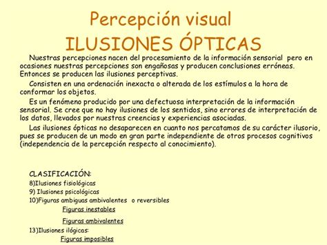 iluciones opticas las reducida percepcion visual ilusiones opticas