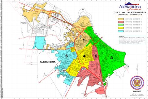 City Of Alexandria Court Records Council District Map City Of Alexandria