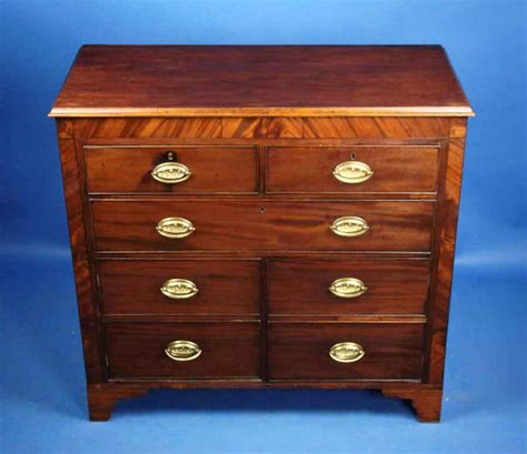 georgian converted mahogany chest of drawers for sale