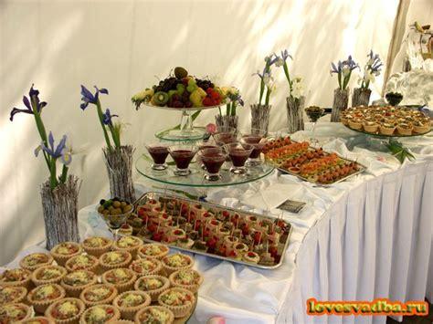 Рецепты и фото фуршетного стола