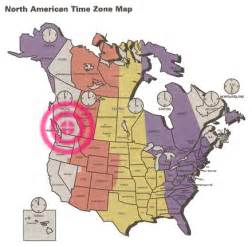 map of time zones in canada tauigess