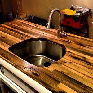 butcher block countertop by spotteddogwoodshop on etsy